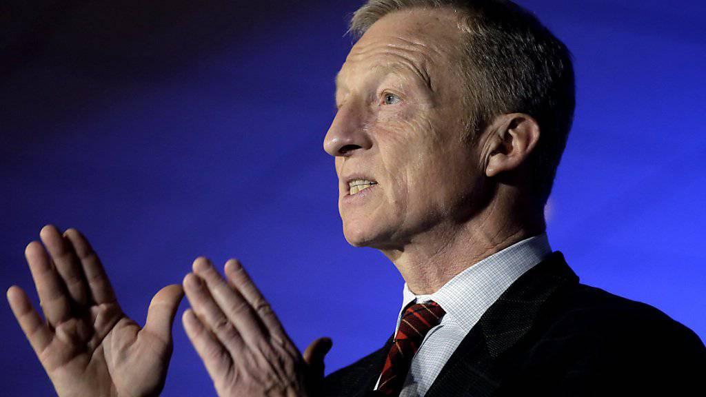 Er will nun doch: Tom Steyer hat seine Bewerbung um die Präsidentschaftskandidatur bei den Demokraten angekündigt. (Archivbild)