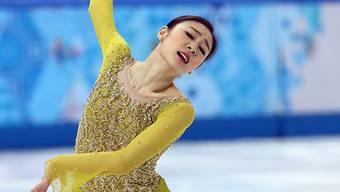 Kim Yuna übernimmt nach dem Kurzprogramm die Führung