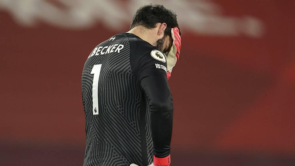 Nach Goaliefehlern: Liverpool verliert die Titel aus den Augen