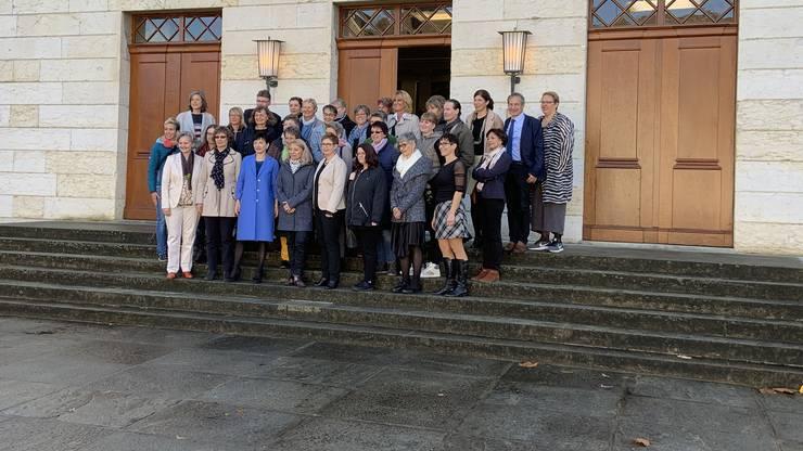 Sie soll die drei Kandidatinnen für den zweiten Wahlgang der Ständerats- und Regierungsratswahlen im Aargau unterstützen,