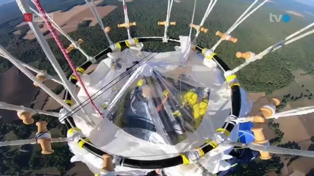 Zwei Ostschweizer wollen Gasballon Weltmeister werden