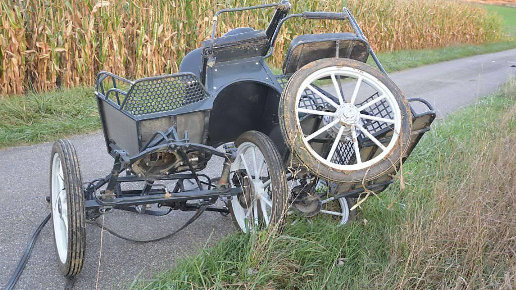 Beim Unfall mit einer Kutsche sind in Rodersdorf SO zwei Frauen verletzt worden. Eines der Zugpferde wurde nach dem Unfall eingeschläfert.
