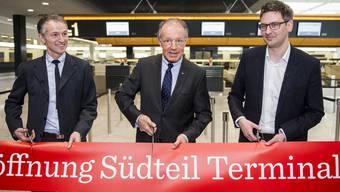 Das Terminal 2 am Zürcher Flughafen erstrahlt in neuen Glanz