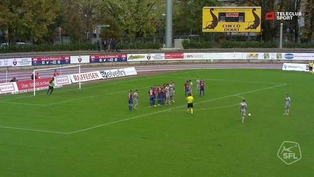 FC Chiasso - FC Aarau: 92. Minute, Mickael Almeida, 2:3