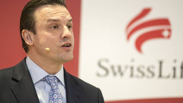 Patrick Frost setzt mit Swiss Life auf Immobilien (Archiv)