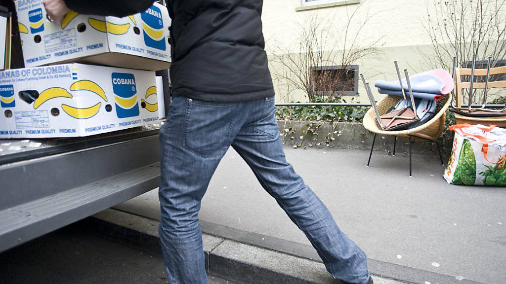 Im vergangenen Jahr haben mehr Haushalte innerhalb der Schweiz ihr Heim gewechselt. (Symbolbild)
