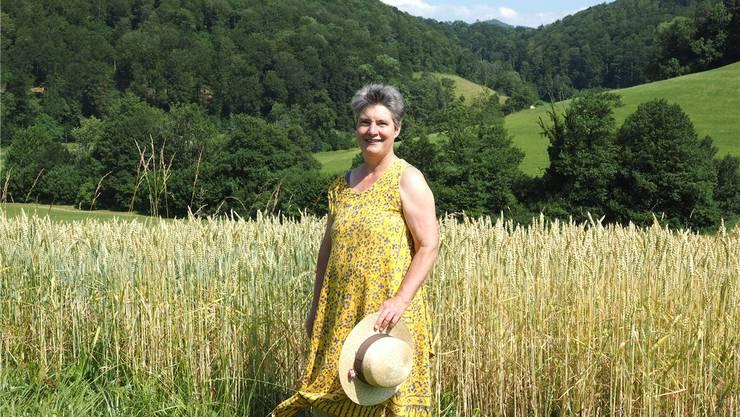 Bio-Landwirtin Gertrud Häseli wird vom Bauernverband nicht unterstützt. Bild: Thomas Wehrli/Archiv