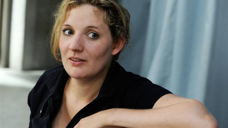 Bald auf der Bühne: Stefanie Grob.