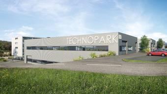 Derzeit existiert der Technopark erst auf Visualisierungen.