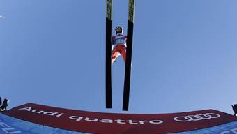 Simon Ammann  beim Take-off