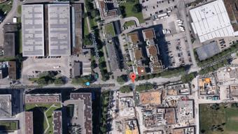 An der Hagenholzstrasse wurde ein Gebäude vollständig evakuiert.