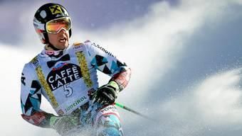 Marcel Hirscher könnte heute im Riesenslalom in Adelboden zum 100. Mal im Weltcup auf das Podest fahren.