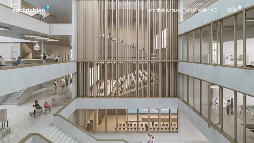 Das ist das Siegerprojekt Campus Horw