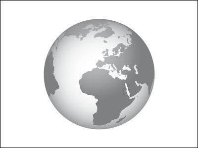 Auch auf jeder Note ist ein Globus abgebildet. Bild: SNB