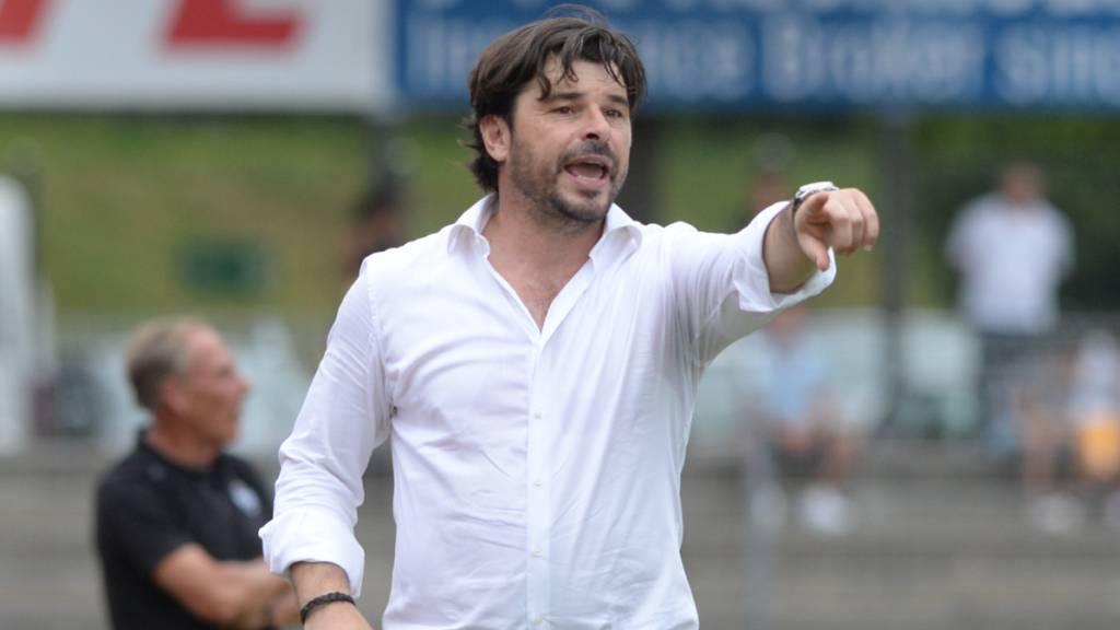 Der ehemalige Schweizer Nationalspieler Ciriaco Sforza übernimmt den Trainerjob beim krisengeschüttelten FC Basel. (Archivbild)