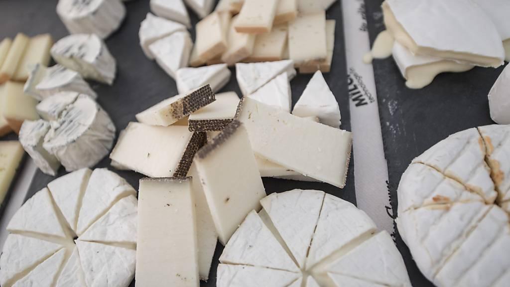 Mehr Käse exportiert - Importe steigen um 11,7 Prozent