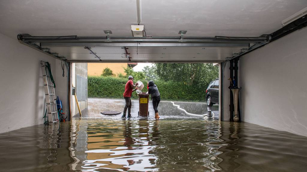 Gebäudeversicherungen rechnen mit Schäden von 650 Millionen Franken