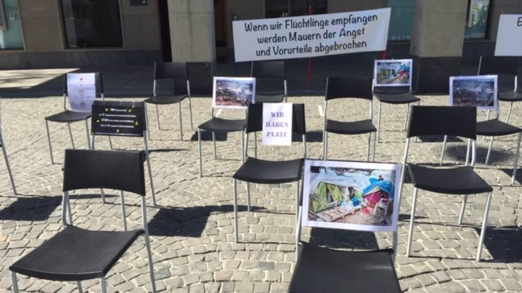 «Wir haben Platz»: Appell zur Aufnahme von Geflüchteten