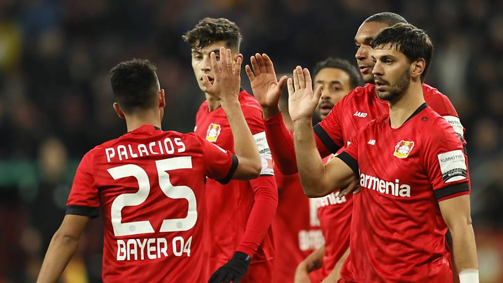 Bayern Leverkusen sichern sich Viertelfinal-Ticket nach Rückstand