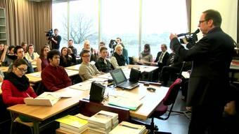 Besuch der Datenschützer des Kantons Zürich im Gymnasium Stadelhofen