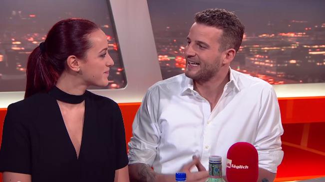 Janosch Nietlispach und Kristina – bis heute das einzige Paar, das über die Sendung hinaus zusammen blieb.