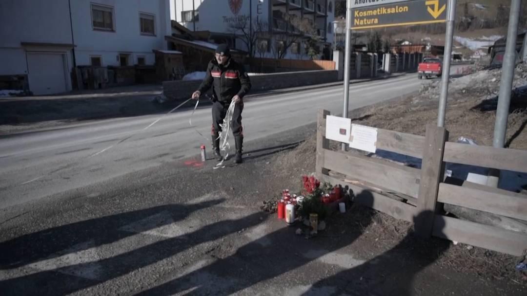 Auto rast in Touristengruppe: Gemeinde trauert um Opfer