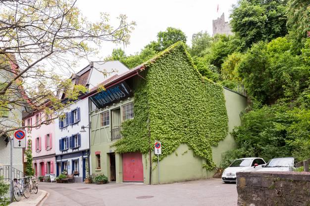 Die Bar Trotamundos am Hahnrainweg in Baden, fotografiert am 23. Mai 2017.