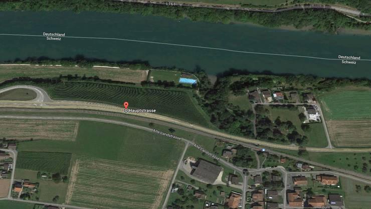 Zwischen Rekingen und Mellikon wird die Rheintal- und Hauptstrasse (K 131) auf einer Länge von rund 1,4 Kilometern ausgebaut.