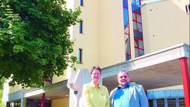 Teamwork: Annemarie und Ernst Christen leiten das Heim seit fast 20 Jahren. (com)