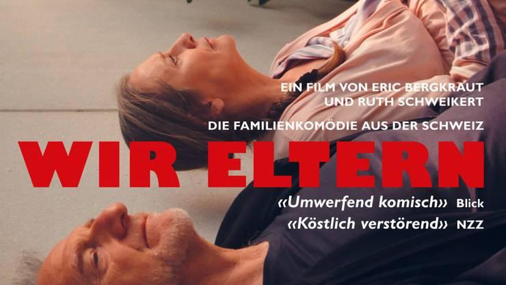 """Filmplakat zu """"Wir Eltern""""."""