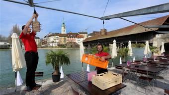 Der Stadtrat wünscht sich die Möglichkeit, dass sich Olten zur Aare hin öffnen kann, so wie das etwa bezüglich Aarebistro möglich war.