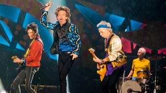 Rolling Stones: Besichtigung Produktion vor dem Konzert (Sept. 2017)