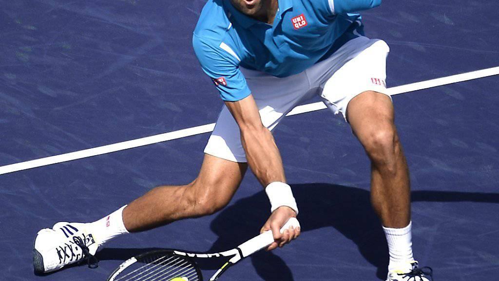 Novak Djokovic wurde von Rafael Nadal erstmals seit langem gefordert