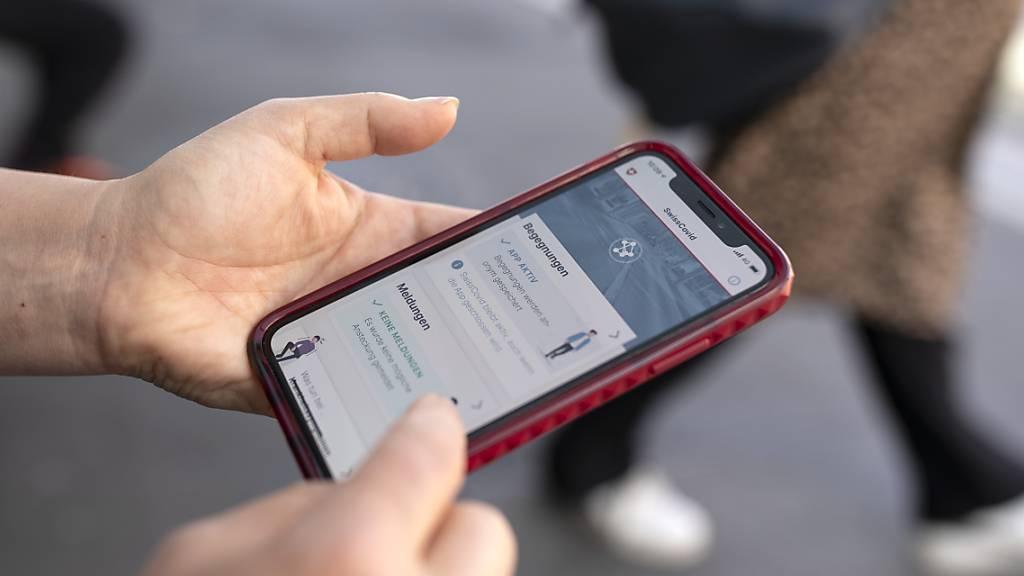 Swiss-Covid-App wird von über einer halben Million Personen benutzt