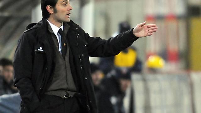 Vincenzo Montella mit gelungenem Debüt als Roma-Coach