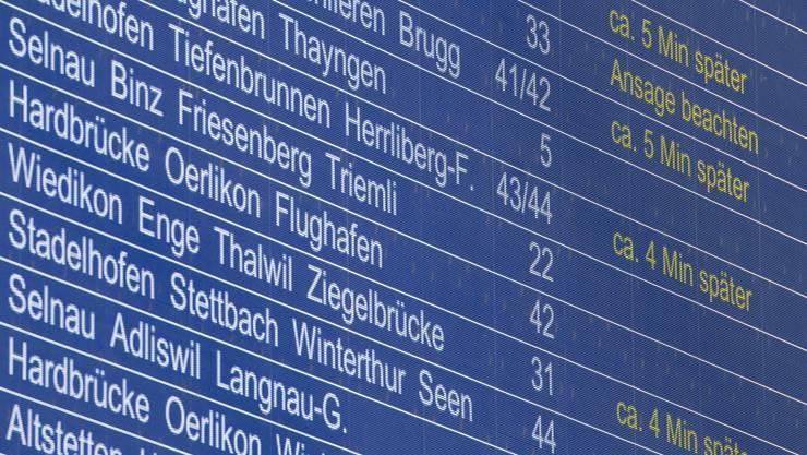 Mit dem Programm Step 2035 investiert der Bund 13 Milliarden Franken in den Ausbau der Eisenbahn.