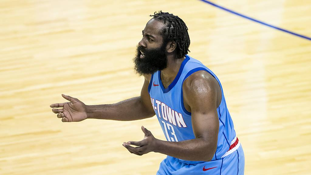 Houston-Star Harden vor Wechsel nach Brooklyn