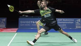 In einem Jahr findet die Badminton-WM in Basel statt.