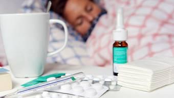 Der Höhepunkt der Grippewelle ist überwunden, sagt Kantonsarzt Martin Roth. (Symbolbild)