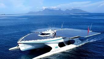 """Das Solarboot """"MS Turanor PlanetSolar"""" ist wieder auf Kurs (Archiv)"""