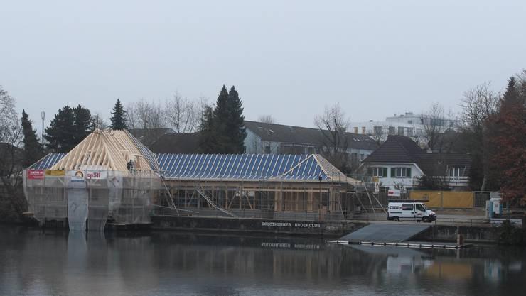 Bootshaus an der Römerstrasse 29