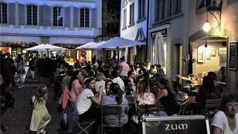 Gut auch für die Gäste: Jetzt ist klar, dass die neuen Tarife für Boulevardrestaurants moderat ausfallen werden.Ueli Wild