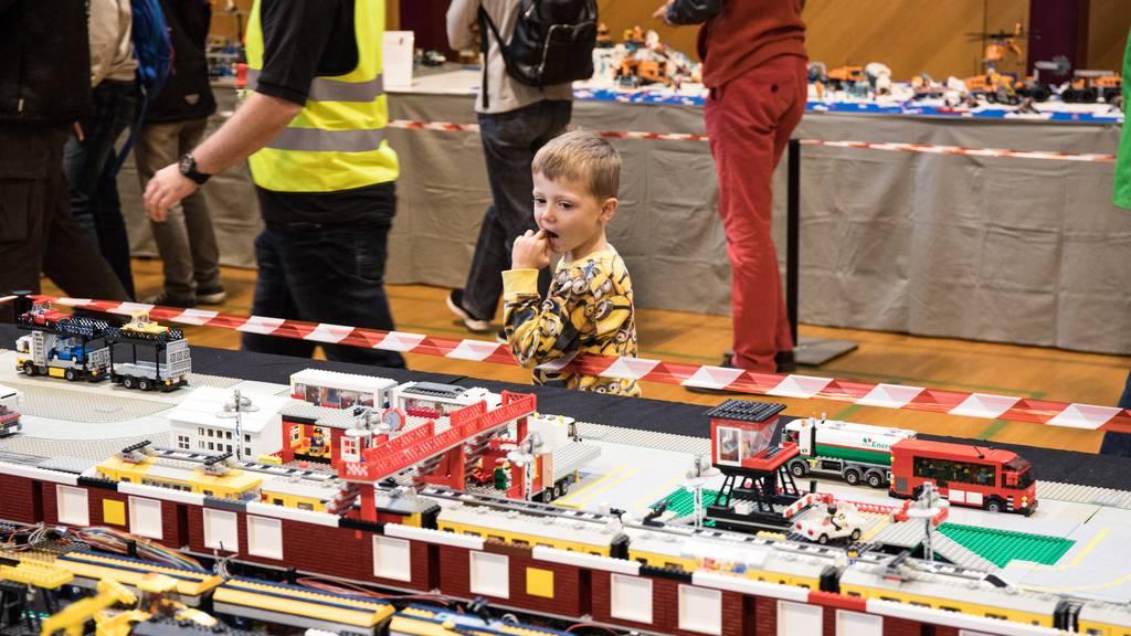 Millionen Steine: Die grösste Lego-Ausstellung der Schweiz in Bildern