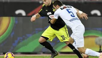 Die neuen Hoffnungen der Zürcher Klubs: Lewan Charabadse (rechts) und Yoric Ravet