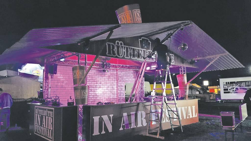 Die Rüttelhütte ist auch am Seenachtsfest Kreuzlingen vertreten. (Archiv)