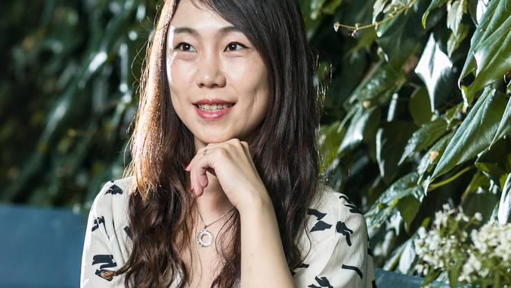 Für Frauen ist es einfach, in China Karriere zu machen», sagt die Science-Fiction-Autorin Hao Jingfang. Foto: Sandra Ardizzone