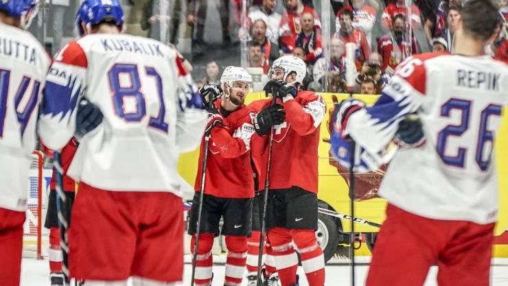 Die Schweiz verliert das letzte WM-Gruppenspiel gegen Tschechien mit 4:5.