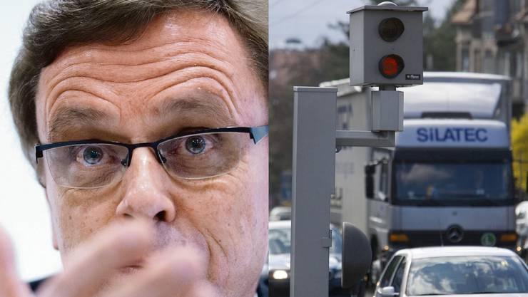 Selbst der oberste Polizeidirektor kritisiert die Busseneintreiberei der Kantone