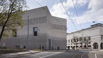 Der Erweiterungsbau des Kunstmuseums Basel (l.) von Christ&Gantenbein. Gaetan Bally/keystone