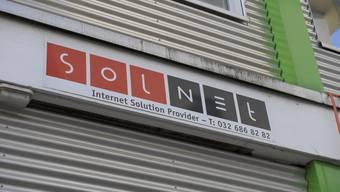 Der Telefonanbieter Solnet in Solothurn.